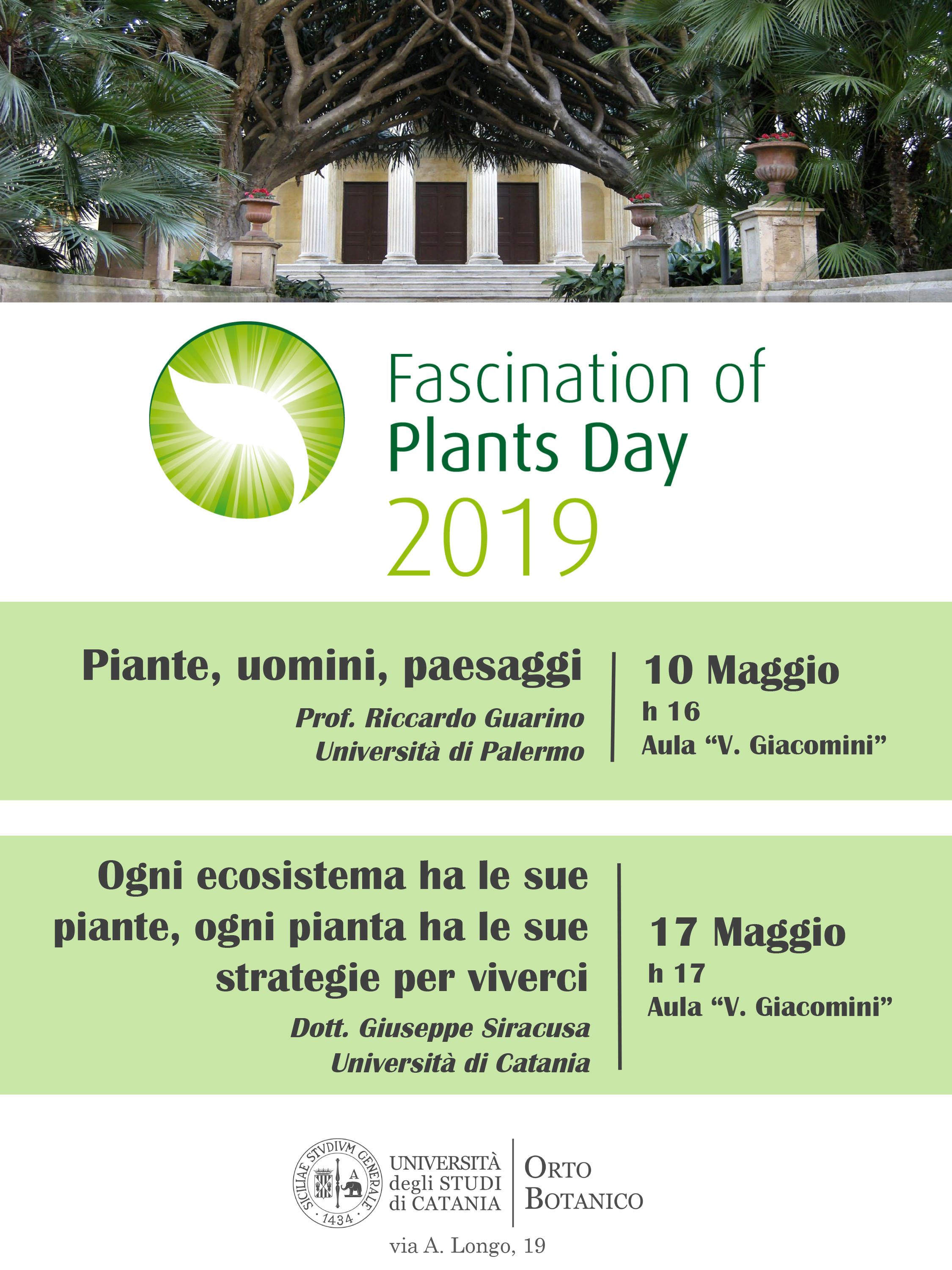 Fascination of Plants Day Catania